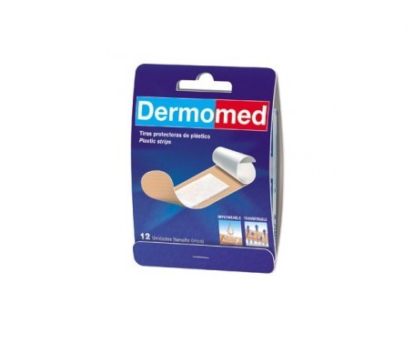 Dermomed apósito adhesivo plast PVC 12uds