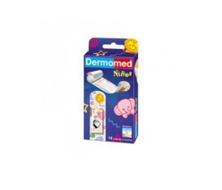 Dermomed apósito adhesivo plast surtido niños 12uds