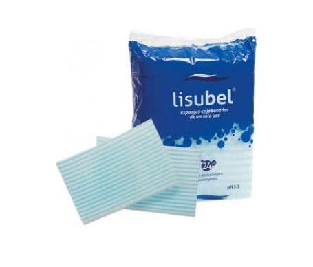 Lisubel esponjas enjabonadas desechables 24uds