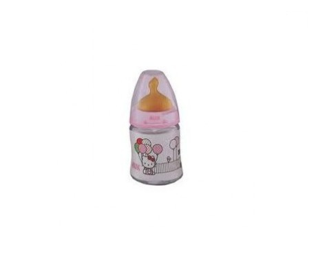 Nuk biberón First Choice Hello Kitty tetina látex talla 1 150ml