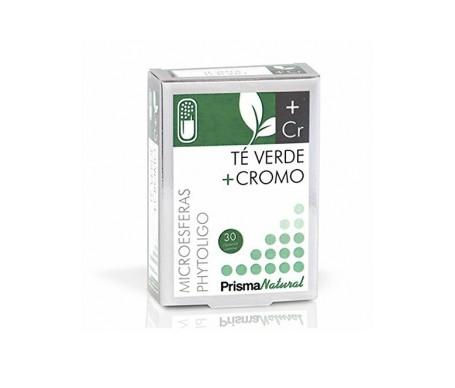 Prisma Natural té verde+cromo 30cáps