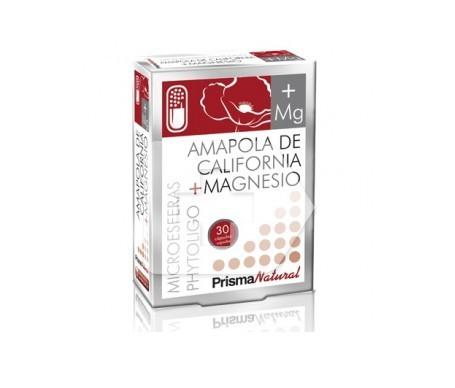 Prisma Natural  Amapola de california + Magnesio 30cáps