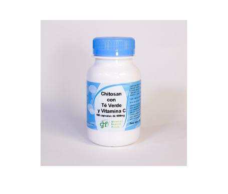 GHF Chitosán + Té Verde + Vitamina C 600mg 100cáps