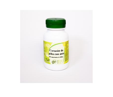 GHF Corazón de Piña 600mg 100 comprimidos masticables