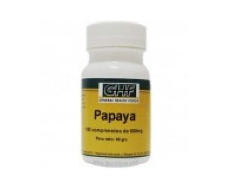 GHF Papaya 600mg 100comp