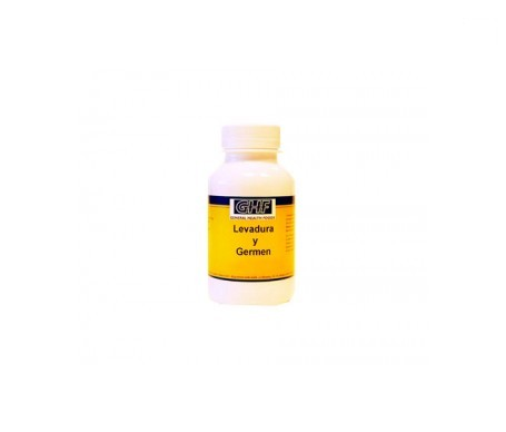 GHF levadura de germen 600mg 550comp