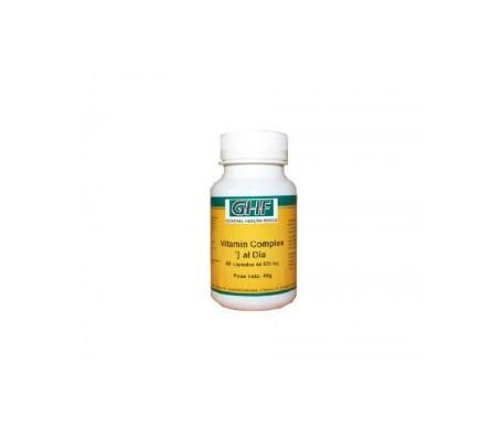 GHF Vitamin Complex 820mg 60cáps GHF Vitamin Complex 820mg 60cáps