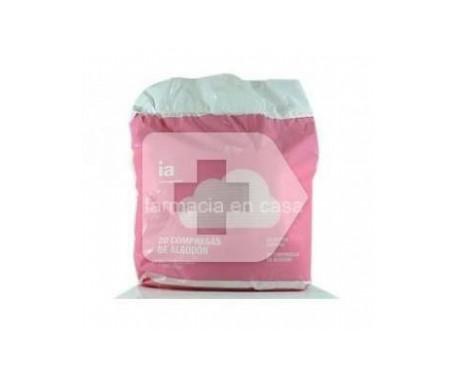 Interapothek compresas de algodón 20uds