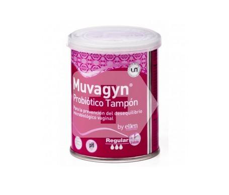 Muvagyn® Probiótico tampón regular 9uds