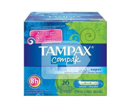 Tampax Compak Fresh Súper 20 unidades