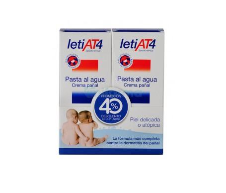 LetiAT4 pasta al agua 2x75g