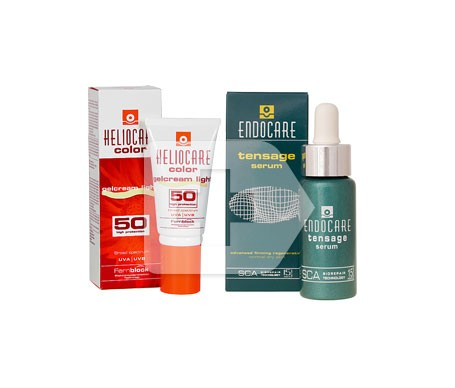 Endocare Serum 30ml + Endocare Gelcream colour light 15ml