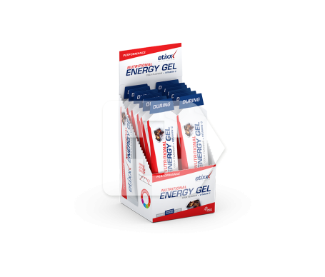 Etixx Nutritional Energy Gel Cola 12uds