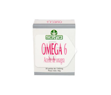 Sotya Omega 6 Onagra 1340mg 30 perlas