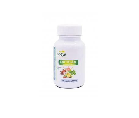 Sotya Chitosán + Té Verde + Vitamina C 600mg 100cáps