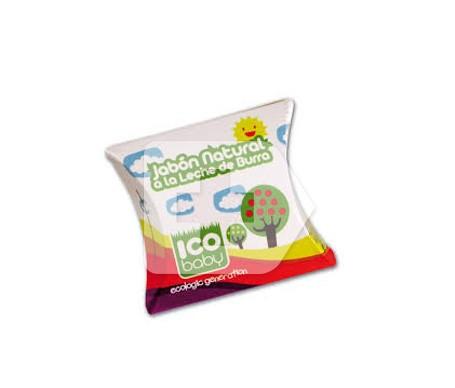 ICO jabón natural con leche de burra 100g