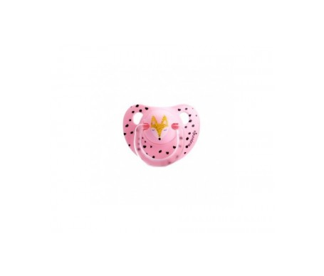 Suavinex®  Hello Fox chupete anatómico 0-6 meses 1ud