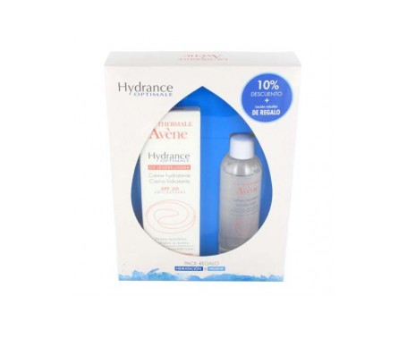 Avène pack Hydrance enriquecida 40ml + loción micelar 50ml