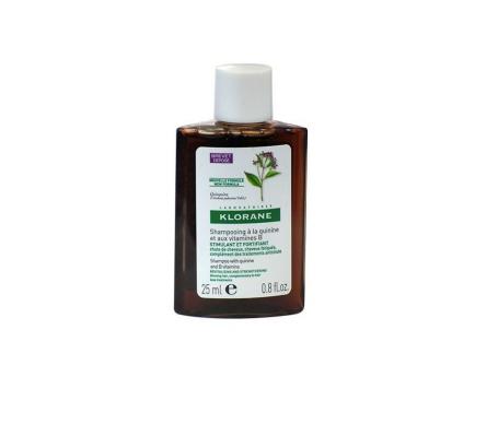 Klorane shampoo all'estratto di chinina 25ml