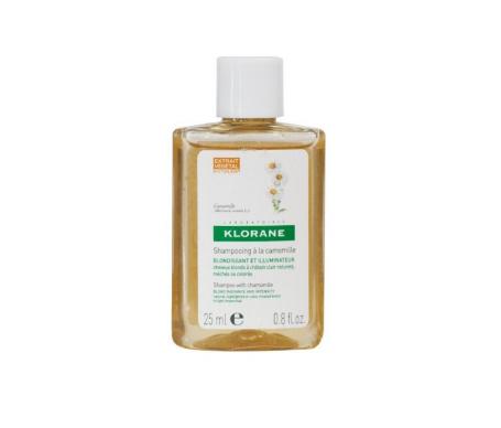 Klorane shampoo riflessi dorati all'estratto di camomilla 25ml