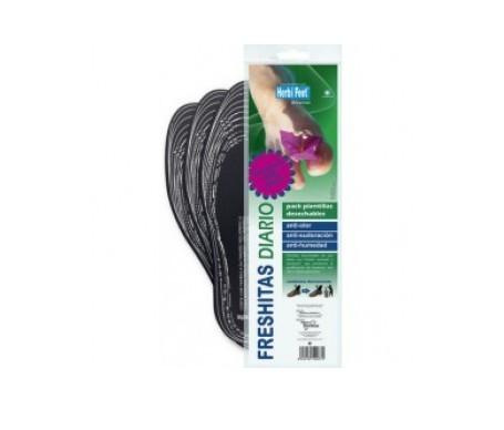 Herbi Feet Freshitas plantillas infantil 2uds