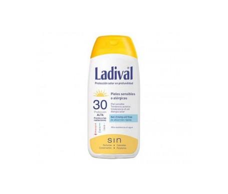 Ladival® Pieles sensibles o alérgicas protección SPF30+ crema gel oil free 200ml