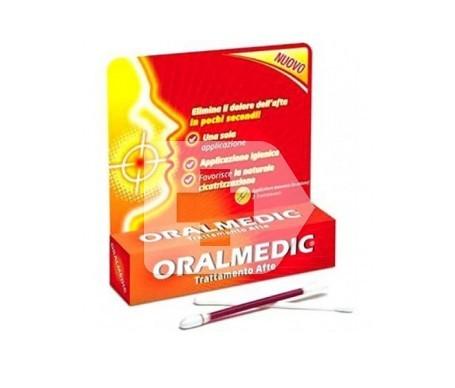 Oralmedic bastoncillos aftas bucales 2uds