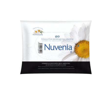 Indas Nuvenia toallitas desmaquilladoras 20uds