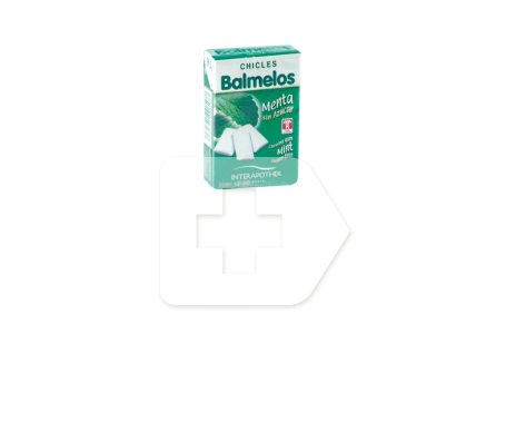 Interapothek Balmelos chicles menta