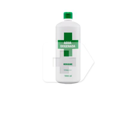 Interapothek agua oxigenada Heridine 1l