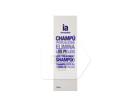 Interapothek champú antipiojos 150ml