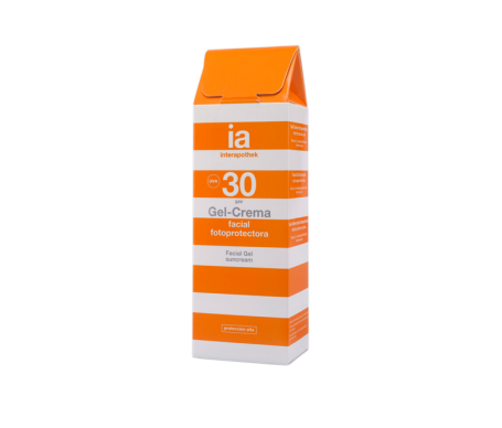 Interapothek gel-crema facial Spf 30 50ml