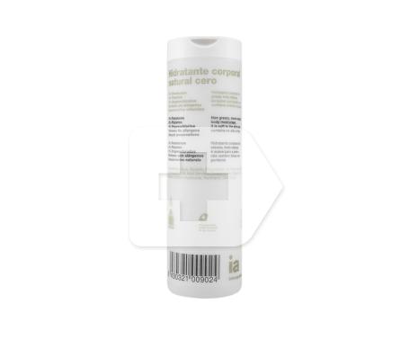 Interapothek hidratante corporal natural cero 400ml