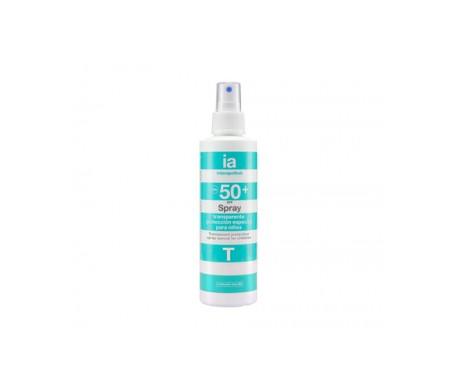 Interapothek spray transparente niños SPF50+ 200ml