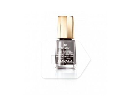 Mavala esmalte Black (color 48) 5ml