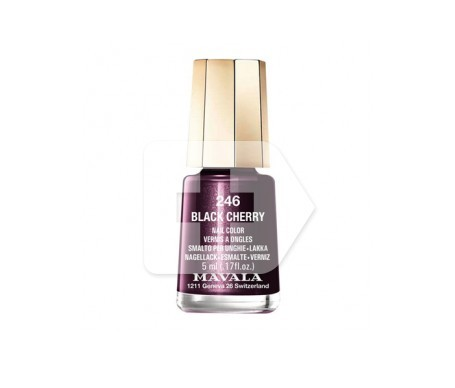 Mavala esmalte Black Cherry (color 246) 5ml
