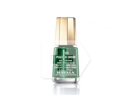 Mavala esmalte Peacock Green (color 191) 5ml