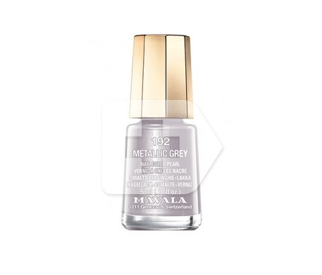 Mavala esmalte Metalic Grey (color 192) 5ml
