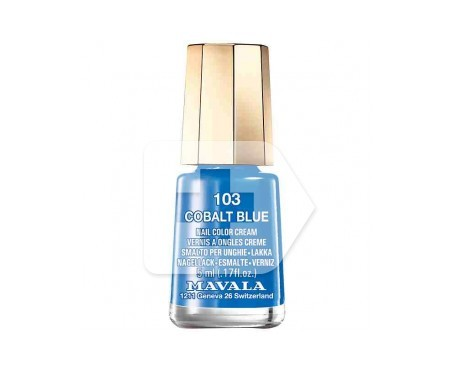 Mavala esmalte Cobalt Blue (color 103) 5ml