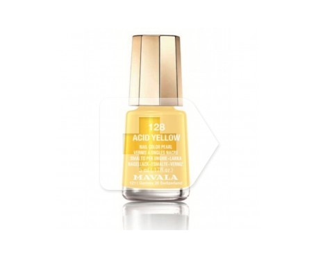 Mavala esmalte Acid Yellow (color 128) 5ml