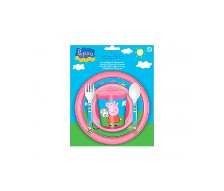 Disney Baby vajilla para microondas Peppa Pig