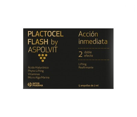 Aspolvit Plactocel Flash 5ampollasx2ml