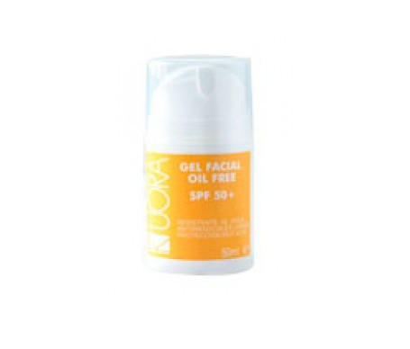 Kuora Sun gel facial oil free SPF50+ 50ml