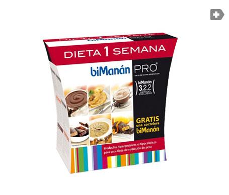 biManán® Pro Dieta 1 Semana 1 pack