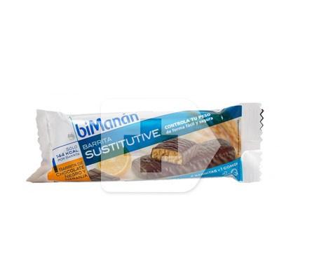 biManán® Sustitutive sabor chocolate y naranja 1 barrita