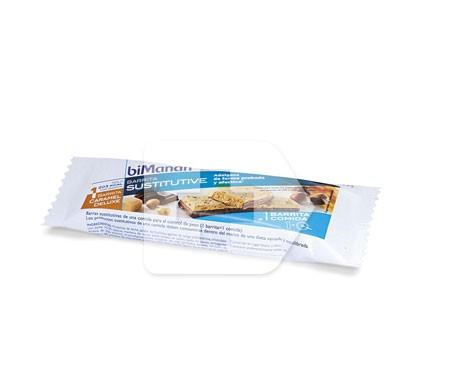 biManán® Sustitutive sabor Caramel Deluxe 1 barrita