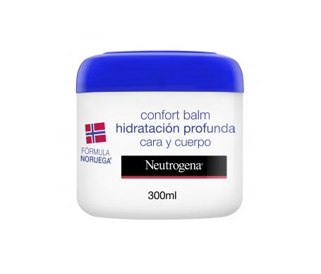 Neutrogena® Bálsamo hidratación profunda confort cara y cuerpo 300ml