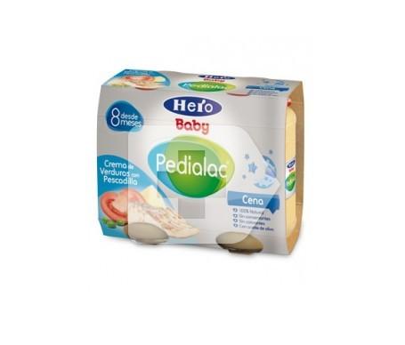 Hero Baby Pedialac bipack crema de verduras con pescadilla 250g+250g