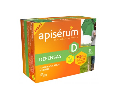 Apiserum Defensas 1500mg 20 vials