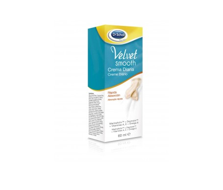 Scholl Velvet Smooth crema diaria de pies 60ml